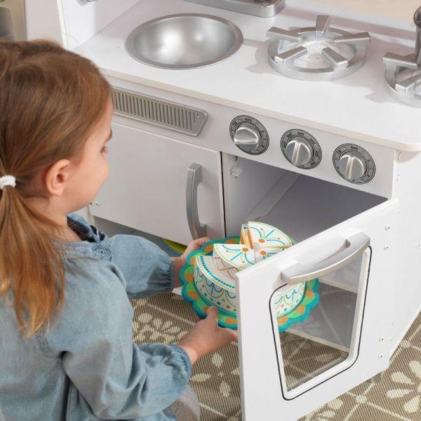 Cuisine Retro Blanche: Cuisine Pour Enfant Vintage (blanc