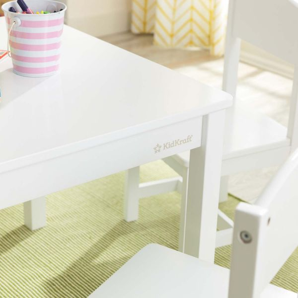 Ensemble table et 4 chaises Farmhouse - 5