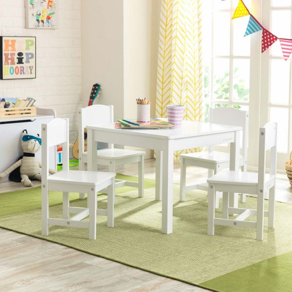 Ensemble table et 4 chaises Farmhouse - 11