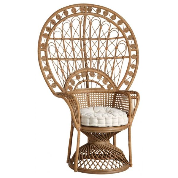fauteuil emmanuelle en rotin aubry gaspard. Black Bedroom Furniture Sets. Home Design Ideas