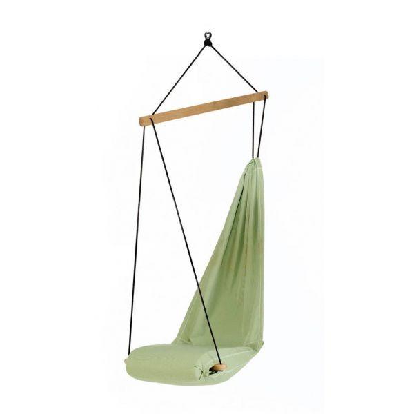fauteuil hamac suspendu hangover vert. Black Bedroom Furniture Sets. Home Design Ideas