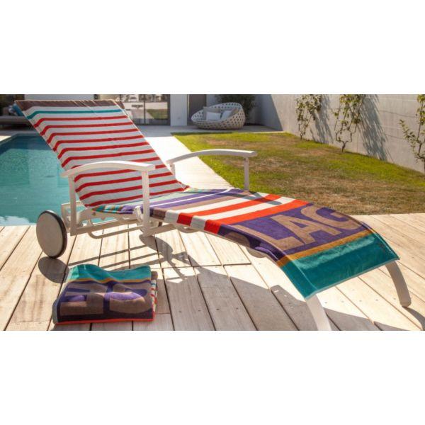housse universelle bain de soleil en coton grand plage. Black Bedroom Furniture Sets. Home Design Ideas