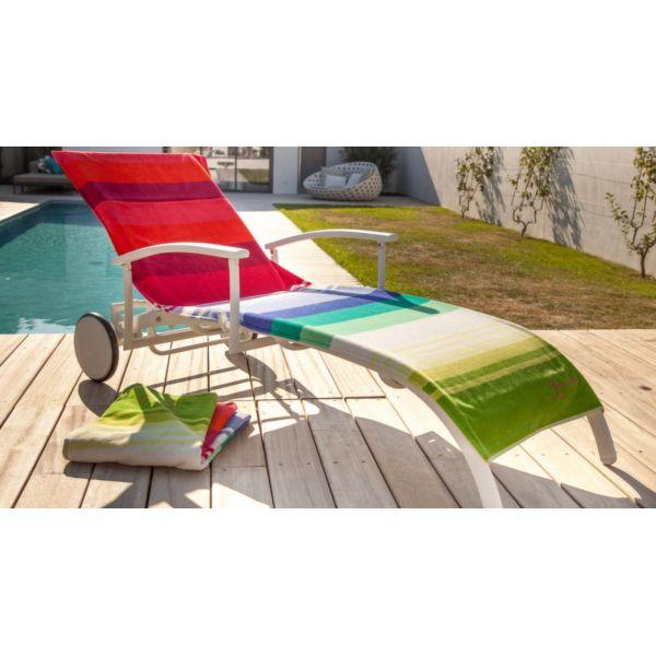 housse universelle bain de soleil en coton les 100 marches. Black Bedroom Furniture Sets. Home Design Ideas