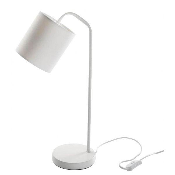 lampe de bureau design blanche buddy. Black Bedroom Furniture Sets. Home Design Ideas