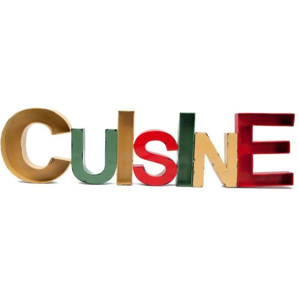 Lettre Decorative Cuisine Jardindeco