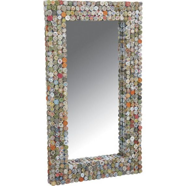 AUBRY GASPARD Vase Ogive en Papier recycl/é