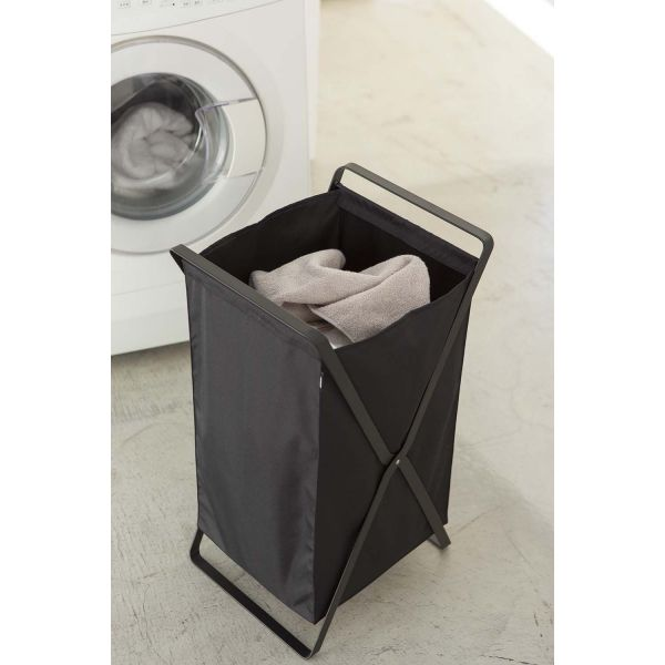 panier linge pliable tower. Black Bedroom Furniture Sets. Home Design Ideas