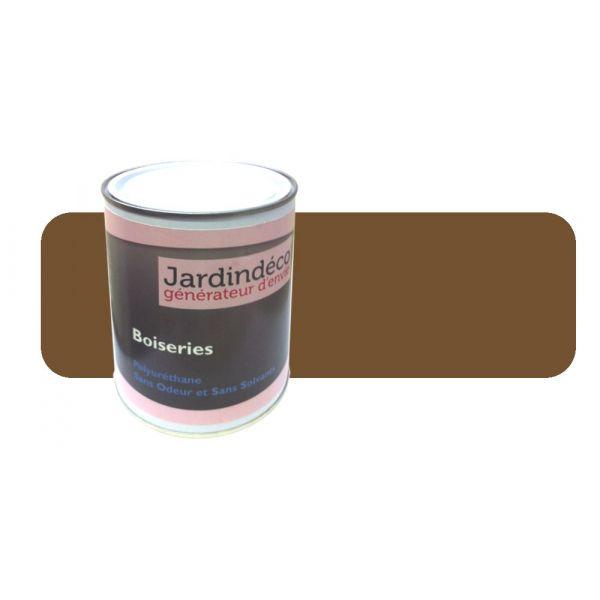 Peinture brun olive pour meuble en bois brut 1 litre brun olive - Peinture pour bois meuble ...