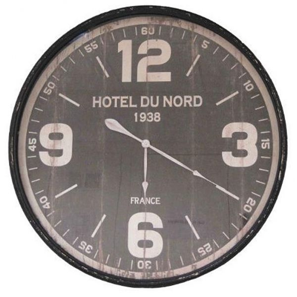 Pendule Murale Hotel Du Nord 89 Cm