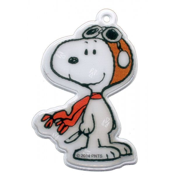 Personnage réfléchissant Snoopy - SOFTREFLECTOR