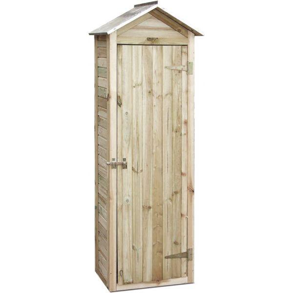 Petite armoire de jardin en pin