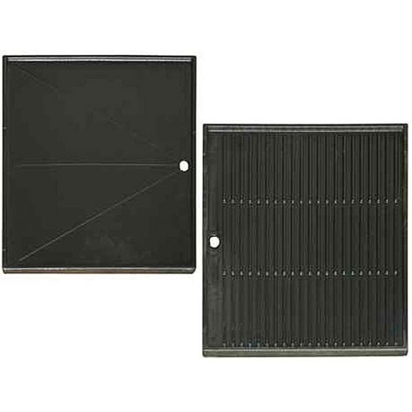 plaque cuisson plancha r versible en fonte plaque. Black Bedroom Furniture Sets. Home Design Ideas