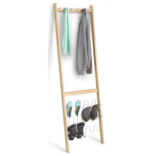 porte manteaux avec range chaussures leanera. Black Bedroom Furniture Sets. Home Design Ideas