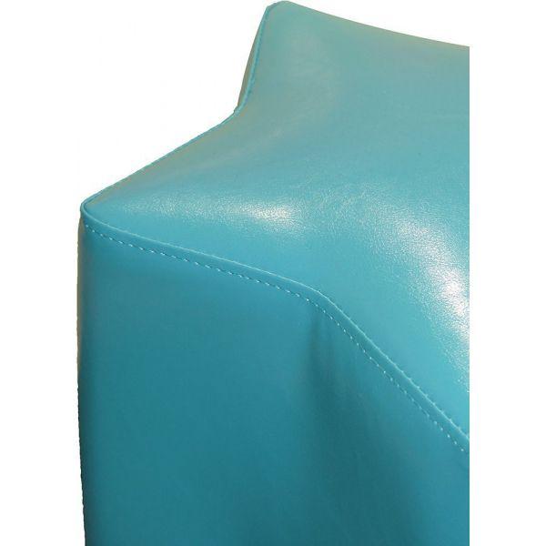 pouf pour enfant etoile bleu turquoise. Black Bedroom Furniture Sets. Home Design Ideas