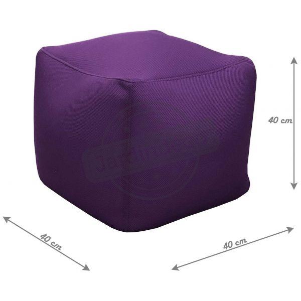 pouf de piscine big bag 40 cm aubergine. Black Bedroom Furniture Sets. Home Design Ideas
