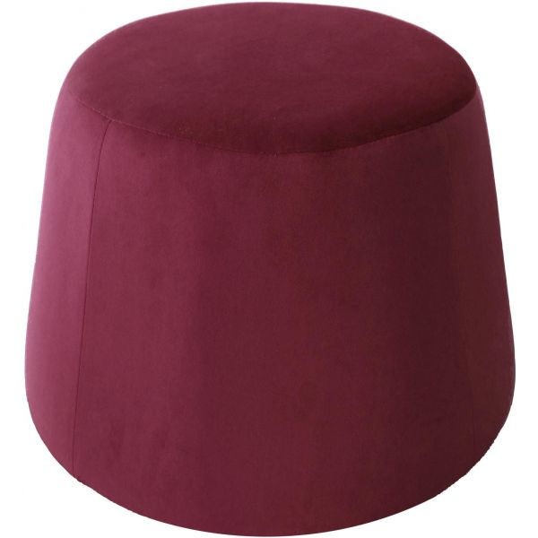 Pouf en velours Dome