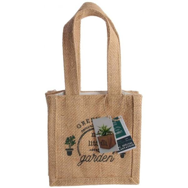 Sac à plantation en jute plastifiée My Little Market - 4,90