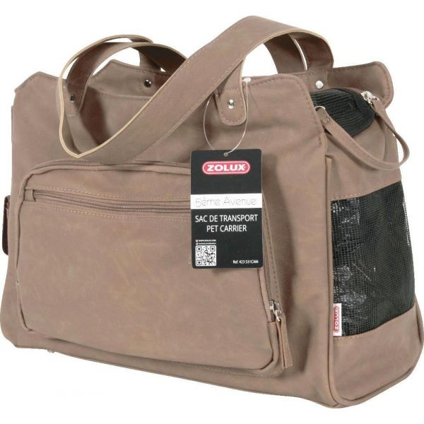 Sac de transport taupe 5ème avenue - ZOL-0836