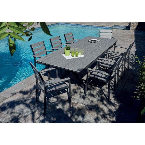 Vente privée table de jardin design - Les Jardins Vente Privée