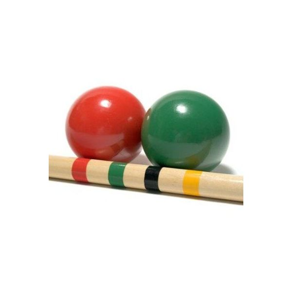 Set de croquet familial en bois - TRADITIONAL GARDEN GAMES