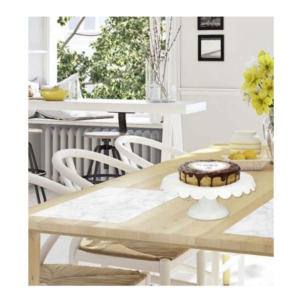 Set de table en vinyle Marbre blanc - CONTENTO