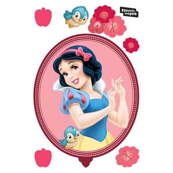 Sticker mural princesses forme tableau - LAA-0161