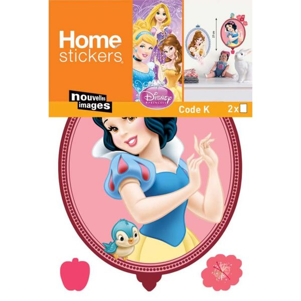 Sticker mural princesses forme tableau