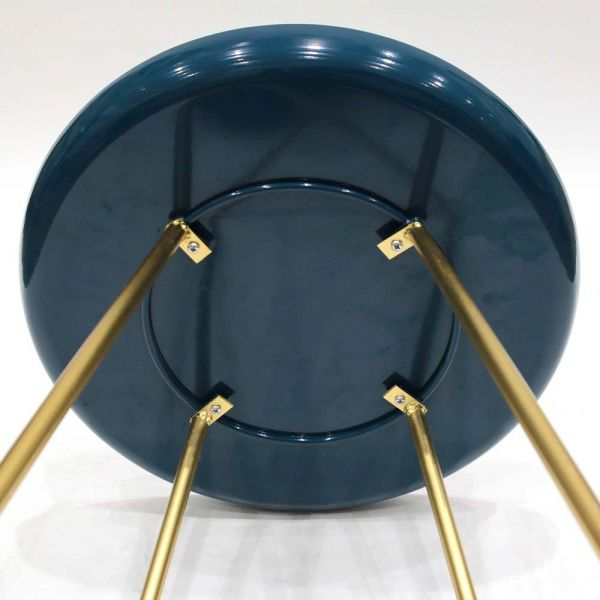 Table d'appoint plateau rond glossy - 31,90