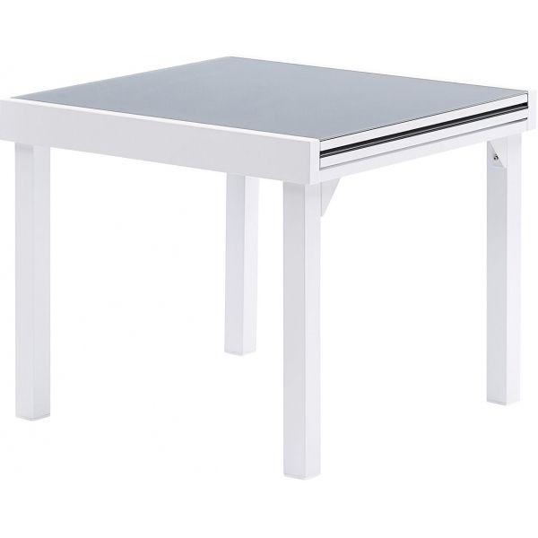 Table jardin Modulo 4 à 8 personnes (Blanc)