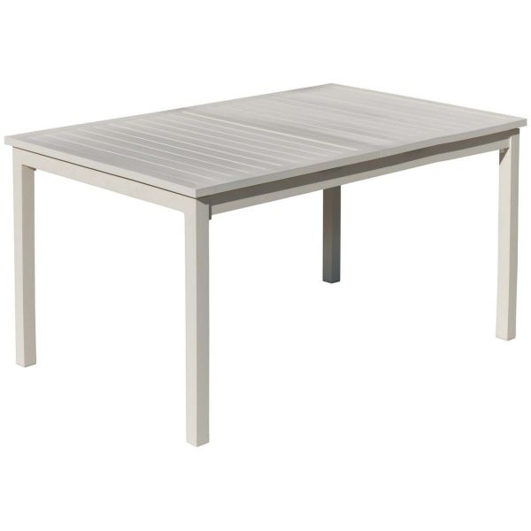 Table de jardin en aluminium extensible Sarana - IND-0429