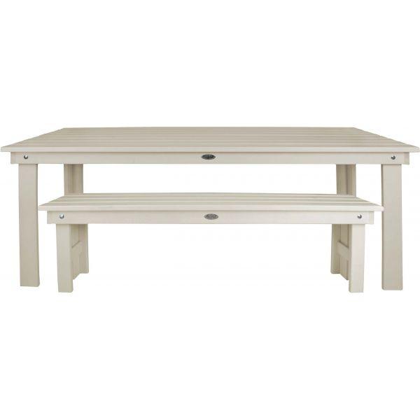 Table de jardin rectangulaire en pin