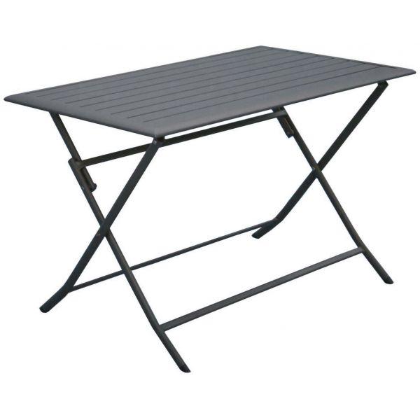 Aluminium En Table Cm Lorita110 Pliante yfgb76