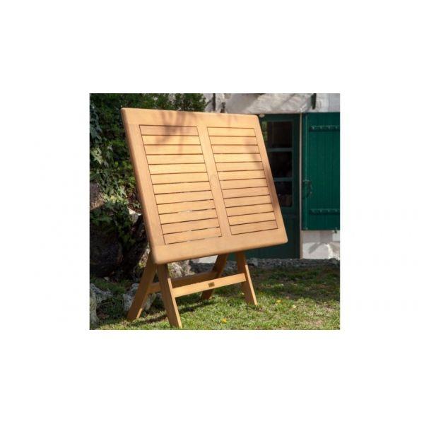 Tables de jardin Proloisirs Table rectangulaire Pliante Look ...