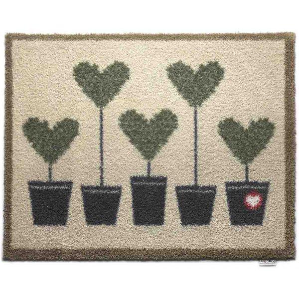 tapis en fibres naturelles motif coeurs hug rug. Black Bedroom Furniture Sets. Home Design Ideas