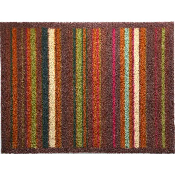 tapis en fibres naturelles rayures 65x150 cm stripe 70. Black Bedroom Furniture Sets. Home Design Ideas
