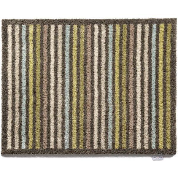 tapis en fibres naturelles rayures 65x85 cm. Black Bedroom Furniture Sets. Home Design Ideas