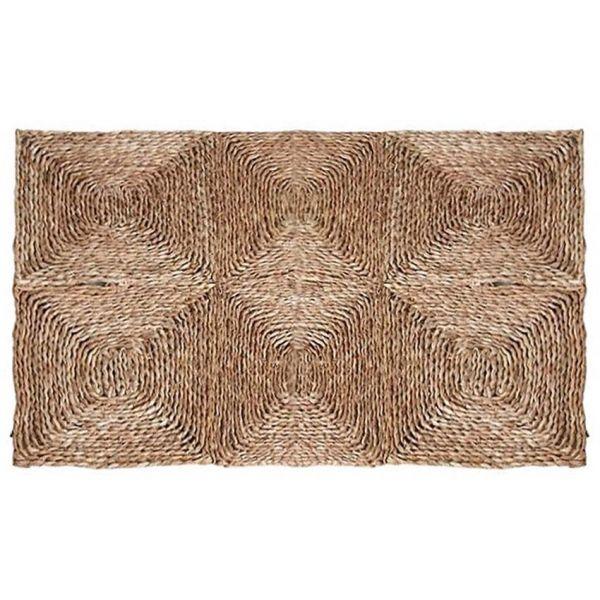 tapis rectangulaire en jonc 180 x 120 cm. Black Bedroom Furniture Sets. Home Design Ideas