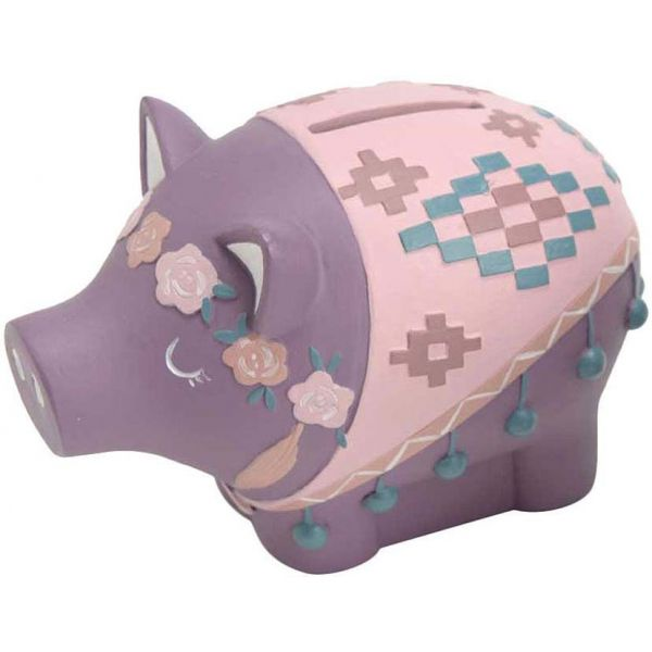Tirelire cochon design Maya