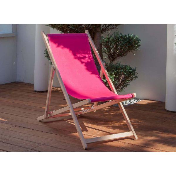 toile pour chilienne st malo lot de 2 fuchsia. Black Bedroom Furniture Sets. Home Design Ideas