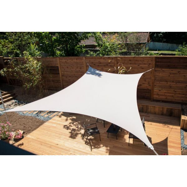 Voile d'ombrage rectangle 3 x 4,5m - 5
