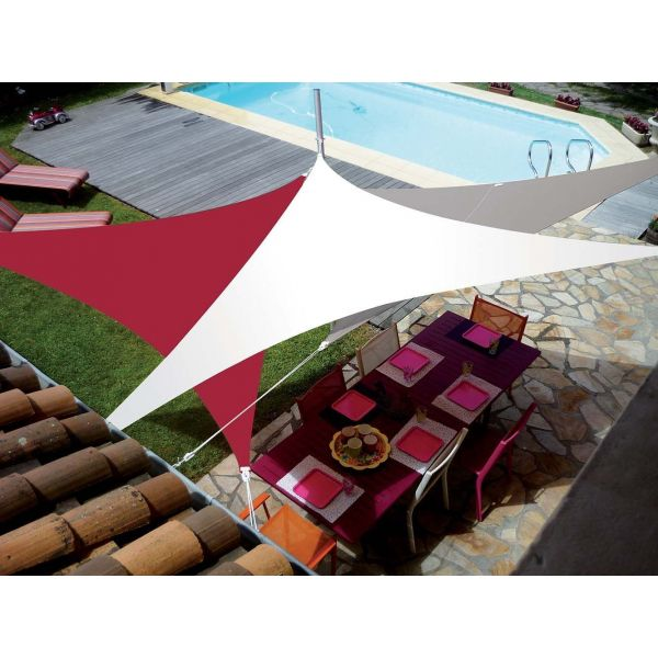 Voile d'ombrage triangle 3 x 3 x 3m - SUN-0110