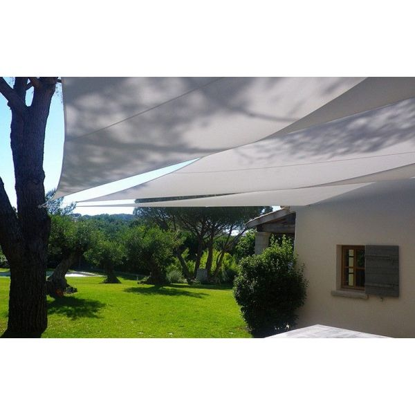 Voile d'ombrage triangle 3 x 3 x 3m - 5