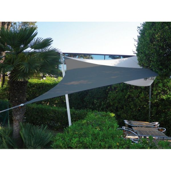 Voile d'ombrage triangle 5x5x5m - EASY SAIL