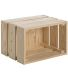 Caisse en pin massif modulable Home box (Moyenne)