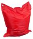 Grand coussin uni Maxi (Rouge)