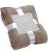 Plaid Doudou taupe
