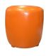Pouf Tonneau (Orange)