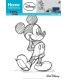 Sticker mural Mickey type croquis