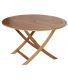 Table en eucalyptus Sophie (120 cm)
