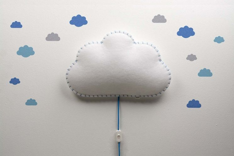 Applique Soft Light nuage - 84,90